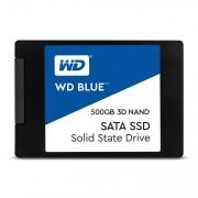 "Western Digital WDS500G2B0A SSD 2.5"" 500Gb Sata 6GbS Blue"