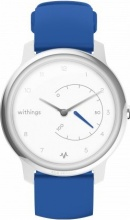 Withings Move ECG Smartwatch Cardio monitora sonno 50m Blu