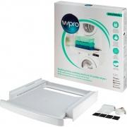 Wpro SKS101 Kit Colonna Bucato Lavatrice Asciugatrice 60 cm Ripiano Scorrevole