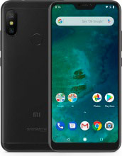 Xiaomi 821011000010-A Mi A2 Smartphone DUAL SIM 6 Pollici Touch 64GB 3G 4G Wifi Android Nero