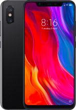 "Xiaomi XIMI8-128BK Mi 8 Smartphone Dual Sim Android 6"" 128 GB 4G Wifi Bluetooth colore Nero"