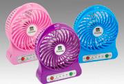 Xtreme Mini Ventilatore Portatile da Tavolo 3 Velocità USB col Blu 10301B