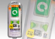 Xtreme Lettore Mp3 8 GB Jack 3.5 mm USB col Verde  27633G