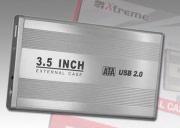 """Xtreme Case Hard Disk 3.5"""" Box Esterno USB col Alluminio 29010"""