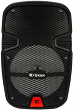 Xtreme 33178 Cassa Bluetooth Karaoke Speaker Altoparlante Portatile 2 Vie 200W