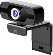 Xtreme 33858 Webcam con Microfono Full HD USB a Pinza Nero