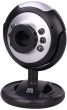 Xtreme 33861 Webcam Hd 640X480 Con Microfonoe Luce Led USB2.0 Nero Cod.