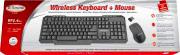 Xtreme 34631 Tastiera + Mouse Wireless Usb Nano colore Nero