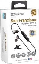 Xtreme 40333 Auricolari Bluetooth Senza Fili Cuffie Wireless con Base di Ricarica