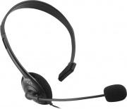Xtreme 90474 Cuffie Mono con Microfono Jack 3,5 mm per PS4 colore Nero