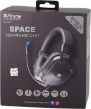 Xtreme 90487 Cuffie Gaming PS4 ad Archetto Microfono Jack 3.5 mm Nero