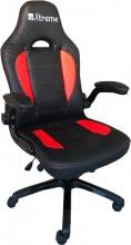 Xtreme 90557 Sedia gaming con Altezza Regolabile e Braccioli nero Rosso  SX1