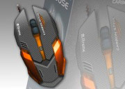 Xtreme Mouse Gaming PC Ottico 3D 2400 DPI 6 Tasti+Rotella USB 94588 Carbon Mouse
