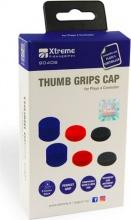 Xtreme Videogames 90406 Silicon Grip Blu  Rosso  nero