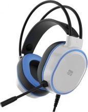 Xtreme Videogames 90501 Cuffie gaming Everest Headset 7.1 Bianco e Blue