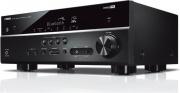 YAMAHA ARXV385BL Sintoamplificatore 5.1 Home Theatre 100W Video Compatibilità 3D RX-V385BL