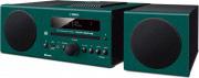 YAMAHA Sistema MIcro Hi-Fi CD  MP3  WMA Bluetooth USB 30W Verde MCR-B043D