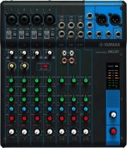 YAMAHA MG10 Mixer Audio Dj 10 canali AUX RCA Monitor Processore Suono 24 Bit