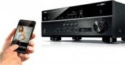 YAMAHA Sintoamplificatore Home Theatre 7.2 Radio AM FM WiFi Bluetooth RX-V581BL