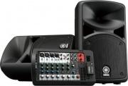 YAMAHA Stagepas-400BT Kit Casse Dj 2 Casse 200 Watt + Power mixer 8 canali Stagepas 400BT
