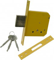 Yale 5632060 Serratura Porta Legno da Infilare 25 mm 4 Mandate Entrata 60 mm