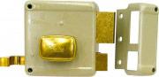 Yale Serratura Porta Legno da Applicare 2 Mandate con Scrocco 60 mm 62000601