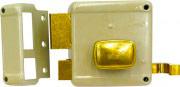 Yale Serratura Porta Legno da Applicare 2 Mandate con Scrocco 60 mm 62000602