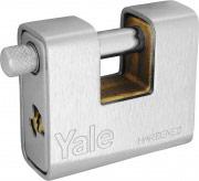Yale Lucchetto Corazzato Blindato dimensione 90 mm con 2 chiavi SERIE 160