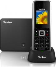 Yealink W52P Telefono Cordless Funzione DECT LAN 500 voci 5 Account VoIP Nero