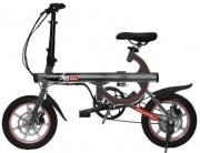 Yesbike 8055519130313 Bicicletta elettrica pedalata assistita Pieghevole 250W Titanio Smart