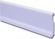 Yppo BLGHU2028 Battiscopa Polys.Liscio 75x8 H.200 Bianco Pezzi 10