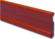 Yppo BLGHU2032 Battiscopa Polys.Liscio 75x8 H.200 Ciliegio Pezzi 10