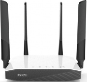 ZYXEL NBG6604-EU0101F Router Wifi Dual Band Fast Ethernet AC 1200 Nero Bianco