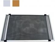 Zeep 01164 Zanzariera Estensibile in Fibra di vetro cm 50x75143 h Alluminio