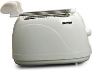 Zephir ZHC475 Tostapane per Toast 2 Fette 500W 5 Livelli cottura Timer