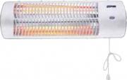 Zephir ZQ1200W Stufa elettrica a parete al Quarzo Potenza Max 1200 W 2 livelli H