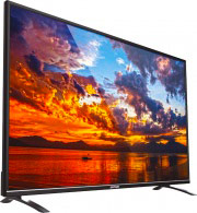 "Zephir TV LED 55"" 4K Ultra HD 100Hz DVB-T2 C HEVC CI+ HDMI USB VGA ZV55UHD ITA"