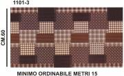 Zetatex S1101-3 Passatoia Terra Mat h.60 Disegno 1101-3