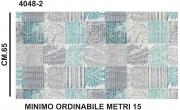 Zetatex S4048-2 Passatoia Aquamat h.65 Disegno 4048-2