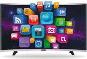 "Akai TV LED Curvo 32"" HD Ready DVB T2 Smart tv Android Wifi LAN CTV 3226 T ITA"