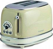Ariete Tostapane 2 Fette Tosta pane 810W 6 Livelli Cottura 15503 Toaster Vintage