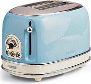 Ariete Tostapane 2 Fette Tosta pane 810W 6 Livelli cottura 15505 Toaster Vintage