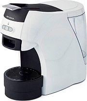 Ariete 1301 Macchina Caffè Espresso Manuale Cialde ESE  Polvere Bianco