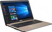 """Asus Notebook 15.6"""" Intel i3 8Gb 500 Gb Wi-Fi LAN Win10 F540LJ-XX470T"""