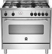 La Germania AMN905MFESXT Cucina a Gas 5 Fuochi Forno Elettrico Ventilato 90x60