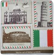 Blanco Raya 2229 - 45x45 Copricuscino per Cuscini Divano 2 Federe Canapone 45x45 cm 2229 Colosseo