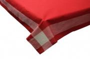 Blanco Raya 24113-R Tovaglia Natalizia 12 posti 180x275 cm + 12 Tovaglioli Rosso 24113