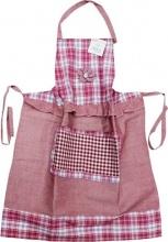 Blanco Raya AMY-6 - 68x83  Lilla Grembiule Cucina Cotone 68x83 cm Ricami e Applicazioni Lilla AMY-6