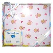 Blanco Raya Copertina Neonato Cotone Culla Carrozzina Plaid 74x100 cm Scimma PT6675