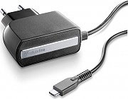Cellular Line ACHTYPECK Caricabatterie Rete Universale Smartphone USB-C Nero